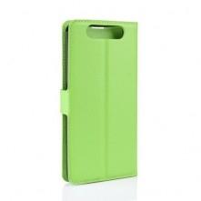 Samsung Galaxy A80, oldalra nyíló, mappa tok, notesz tok, zöld