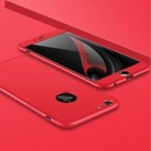 GKK három részes kemény tok Apple Iphone 6S készülékhez - piros