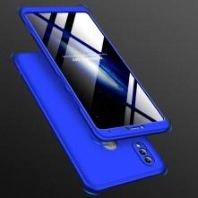 GKK három részes kemény tok Huawei Honor Note 10 készülékhez - kék