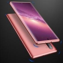 GKK három részes kemény tok Samsung Galaxy Note 10 készülékhez - rózsaarany