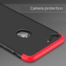GKK három részes kemény tok Apple Iphone 7 készülékhez - fekete