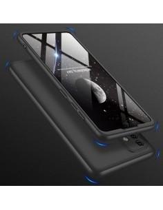 GKK három részes kemény tok Samsung Galaxy A71 készülékhez - fekete
