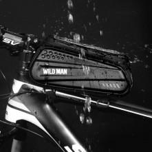 WILD MAN kerékpár vázra rögzíthetõ tok 22 x 8.5 cm - FEKETE