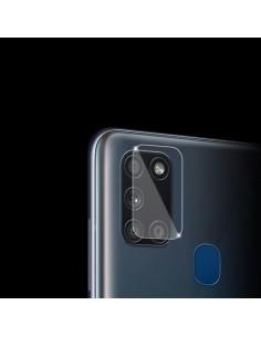 Samsung Galaxy A21s telefon hátsó kamera védõ edzett üveg
