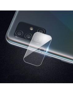 Samsung Galaxy A71 telefon hátsó kamera védõ edzett üveg
