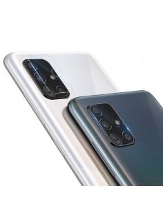 Samsung Galaxy A71 telefon hátsó kamera védő edzett üveg
