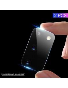 Samsung Galaxy S20 telefon hátsó kamera védő edzett üveg