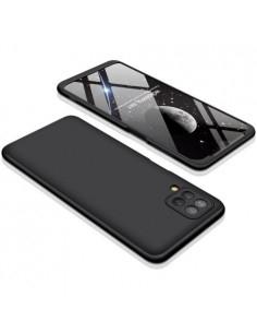 GKK három részes kemény tok Samsung Galaxy A12 készülékhez - fekete