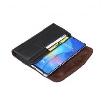 Univerzális 6.3-6.9 inches övre fûzhetõ mobiltelefon tartó - 17.5 x 8.7 x 1.8 cm - FEKETE