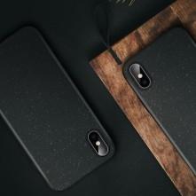 Samsung Galaxy A12, FORCELL BIO, rugalmas tok, fekete
